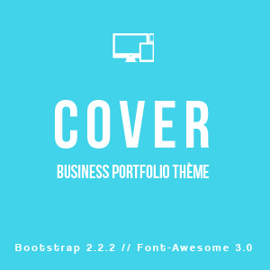 Cover Business Portfolio Thème WordPress