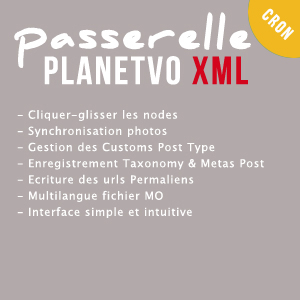 Plugin Wordpress Passerelle PlanetVO